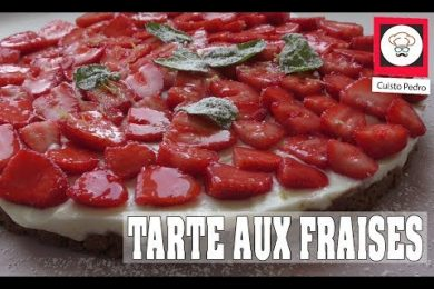 tarte fraise speculoos sans cuisson thermomix tm5