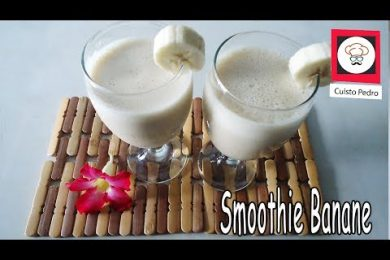 Recette smoothie banane Thermomix TM5